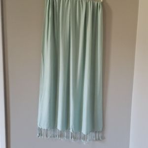 WHBM Mint Green Wrap